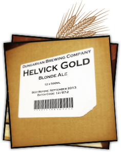 Helvick Gold Irish Blonde Ale