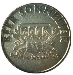 Beer Sommelier Medal